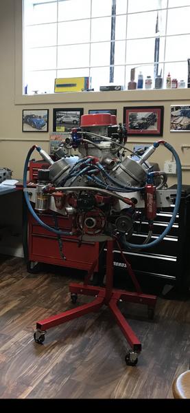 352 Splayed Valve Small Block Race Engine