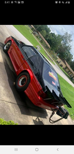 Foxbody GT Mustang Turbo Street car 25.5 cage