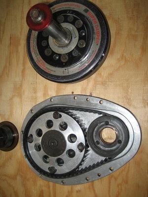 Jesel belt timing set & harmonic balancer