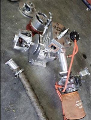 3x3 1/4 Fred Craw Stroker motor