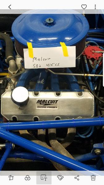 SB2 MALCUIT RACING ENGINE  for Sale $19,500