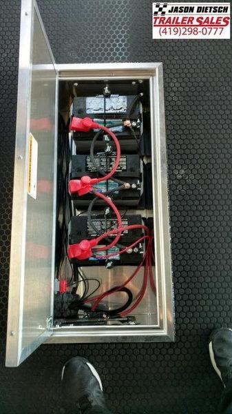 NEW 2020 ATC 28' DELUXE ENCLOSED STACKER TRAILER W/TILT LIFT