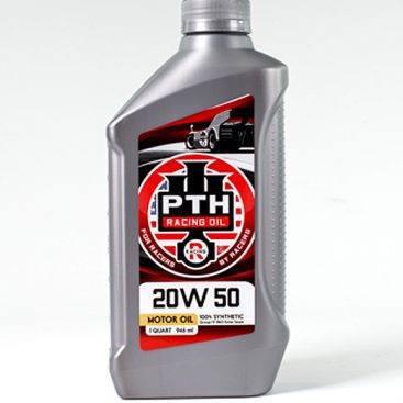 PTH Racing Oil 20W50 12/1 Quart