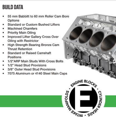 Billet Aluminum LS Block by Energy Mfg.