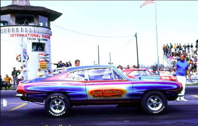 1968 Plymouth 'Cuda BO29 Factory Hemi  Race Car