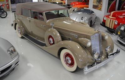 1936 Packard Twelve Model 1408 Convertible Sedan