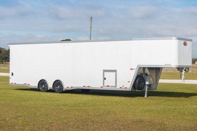Sundowner 2-Car Wedge Enclosed Car Trailer
