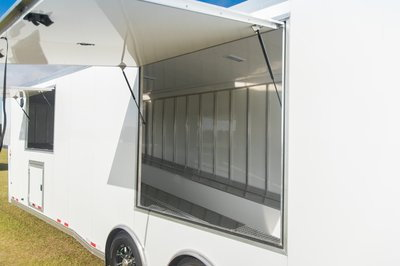 Sundowner 2-Car Wedge Enclosed Car Trailer