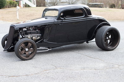 1934 Ford (3 Window Coupe)