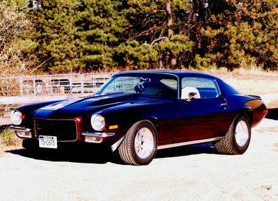 1972 Camaro Split Bumper