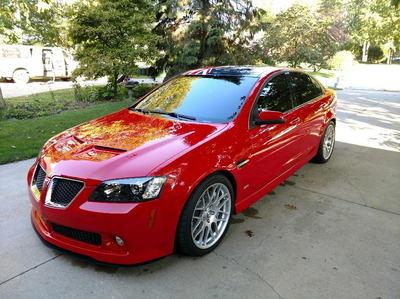 2009 Pontiac G8 S/C