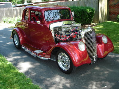 1933  WILLYS  HEMI  POWERED