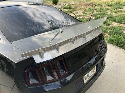 2010-2014 Ford Mustang Custom Autocross Spoiler