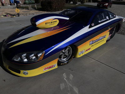 2012 American Racecraft GXP T/S, S/C, S/G