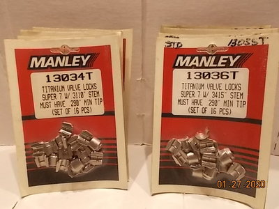 MANLEY TITANIUM LOCKS SUPER 7
