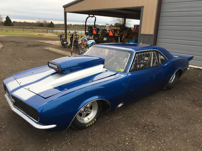 1967 Camaro race car