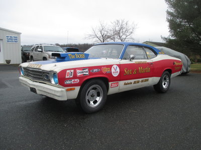 Plymouth Duster Sox & Martin Tribute Built 360 Auto 355