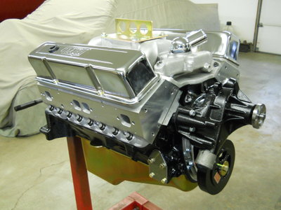 385 Stroker, Forged Pistons, H-Beam Rods, Dart Pro 1 Heads