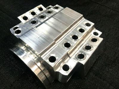 World Products Original Merlin Pro Billet Splayed Aluminum M
