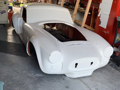 1966 Ford cobra Coupe kit unfinished