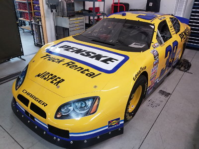 RACE WINNING NASCAR NATIONWIDE ROAD RACE CAR