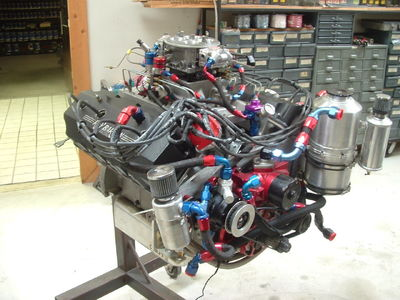 Ray Barton 426 Hemi 572 CI Engine Motor 1275HP Fresh Rebuild