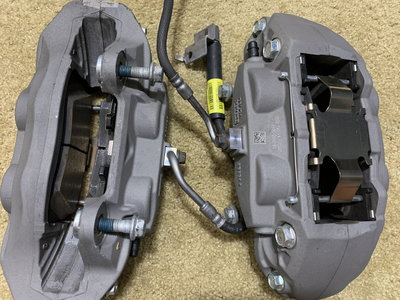 2016 Ford Mustang GT Front and Rear Brake assembly