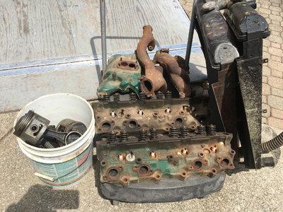 1956 Buick 321 Nail Engine Parts