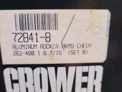 SBC CROWER 1.6 ROCKER ARMS