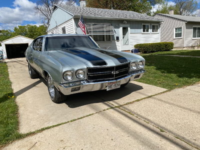 1970 chevelle ss 502 bbc sniper injection