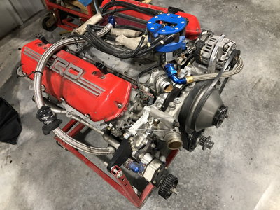 NASCAR Toyota engine complete