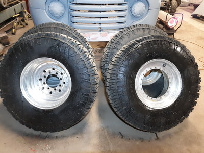 Real Wheel dual complete setup TRXUS STS tires