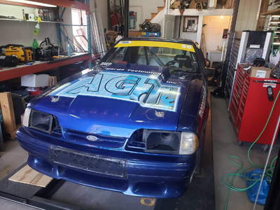 1990 Mustang Coupe Roller Chassis