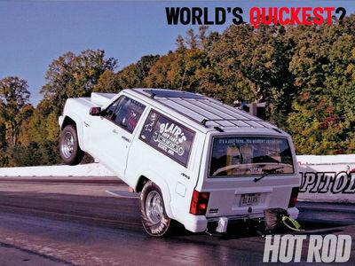 World's Quickest Jeep Cherokee