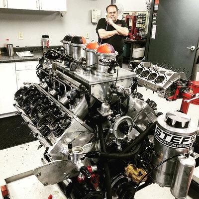 Pro Nitrous 903 Buck Racing Engine