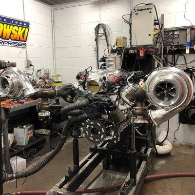 2,500 Horsepower, 427ci LS7, Twin Bullseye 83mm NLX Turbos