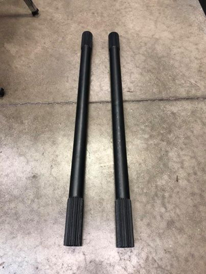 SCE Grand National Gun Drilled Driveshafts  for Sale $375