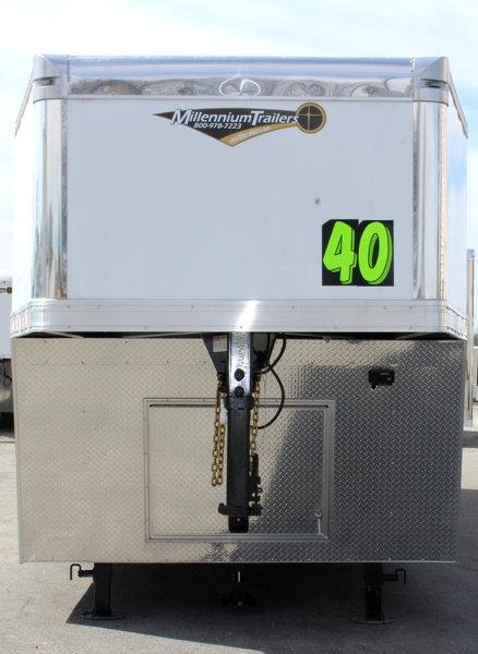 2019 40' Millennium Extreme Gooseneck Race Car Trailer