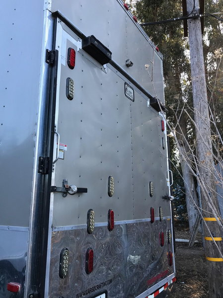 Two car stacker enclosed trailer $ 19,500.00  for Sale $23,000
