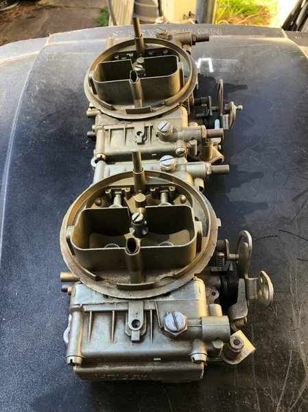 Holley 660 Center Squirters  for Sale $1,500