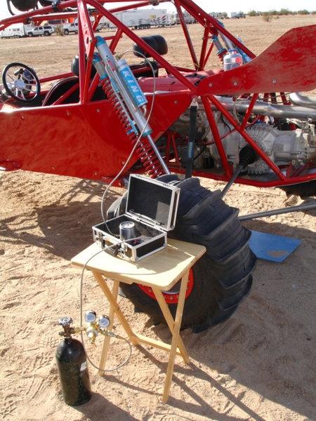 Nitrogen set up for shocks or tires.  for Sale $450