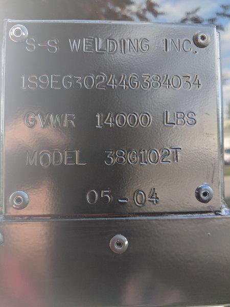 2003 S&S 38' Gooseneck