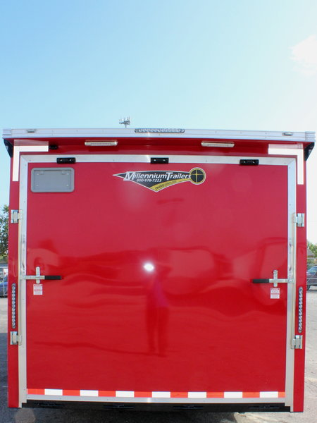 2019 SHARP 24' Enclosed Race Trailer NOW READY