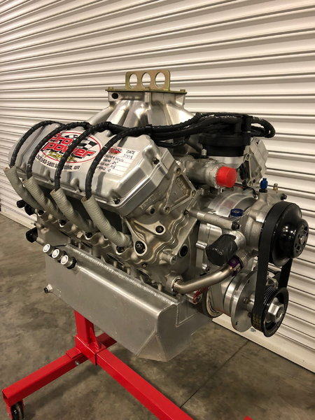 PRO POWER RY45 434 FORD ENGINE COMPLETE WITH CARB & HEAD