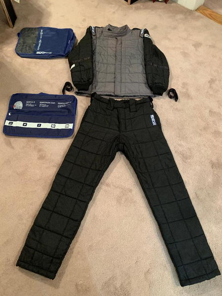 Sparco AIR-15 Two Piece Drag Racing Fire Suit - SFI-15  for Sale $800