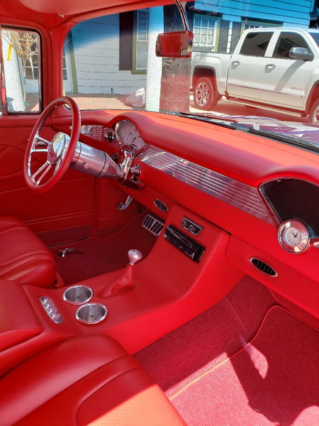 1955 pro touring belair  for Sale $80,000