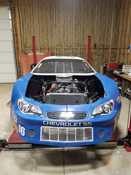 PRW Late Model Stock Car, complete or roller  for Sale $21,000