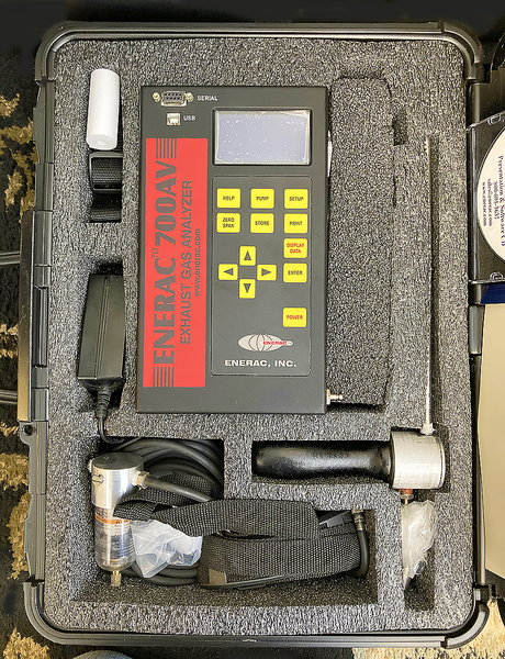 ENERAC Integrated Emissions System Model 700  for Sale $2,000