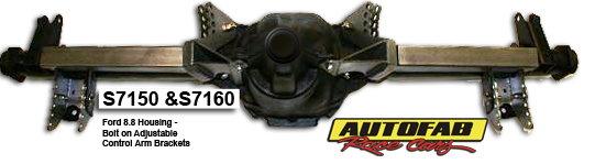 Autofab 8.8 Ford Bolt Adjustable Control Arm Brackets w/ Arm