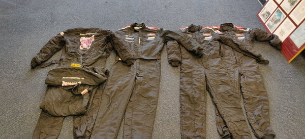 OMP Firesuits; 1 piece, 2 layer. Several Sizes.  for Sale $150